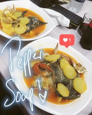 Best pepper soup ever!