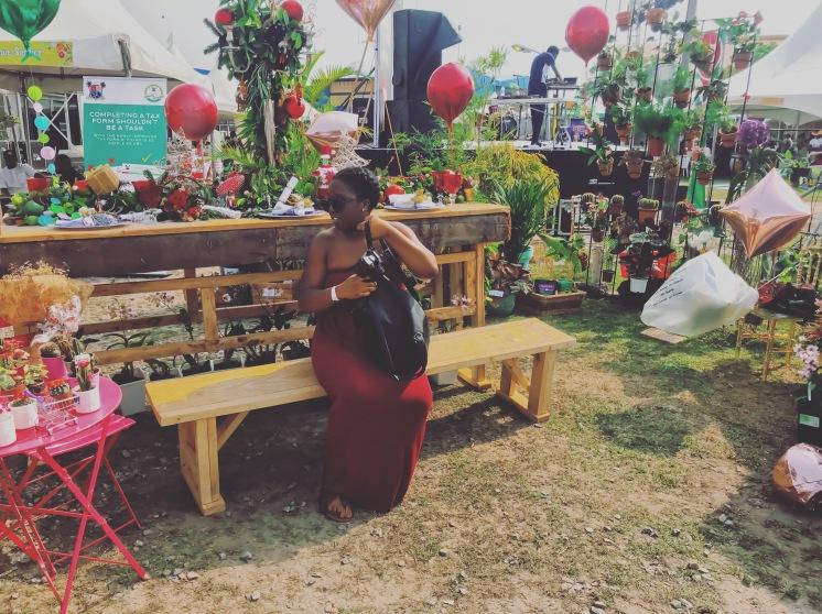 Food festival on Victoria Island